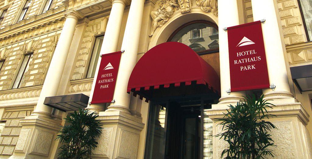 Bienvenido al Hotel Rathauspark 4*