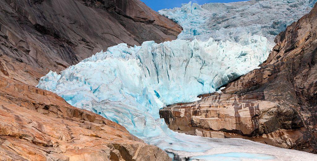 Jostedalbreen, el glaciar más grande de Europa