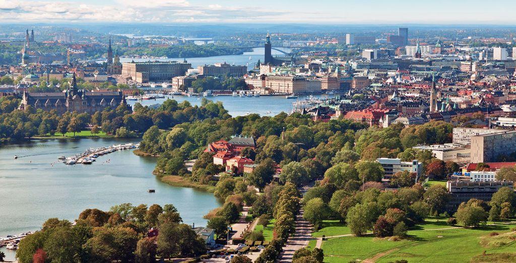 Terminarás tu periplo en Estocolmo
