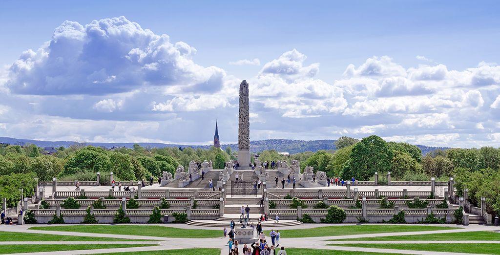 El Parque de Vigeland, un espacio lleno de asombrosas esculturas