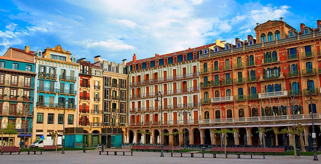 Bienvenido a Pamplona