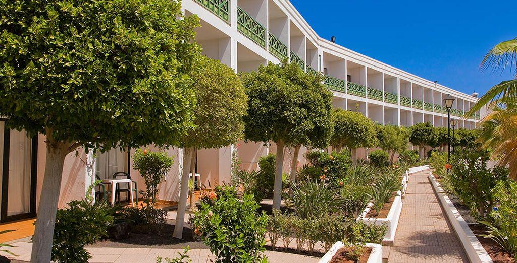 Todas las habitaciones gozan de un balcón o terraza