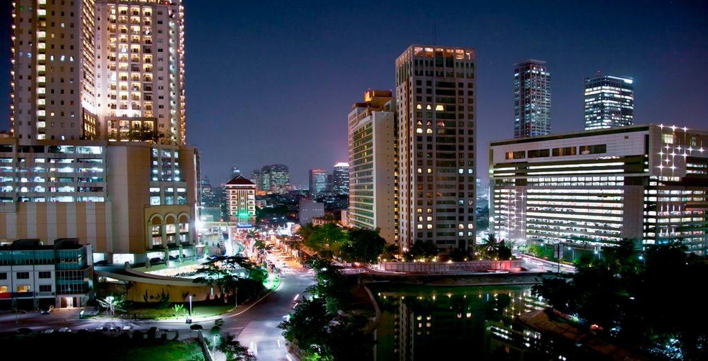 La primera parada de tu viaje será la ciudad de Jakarta