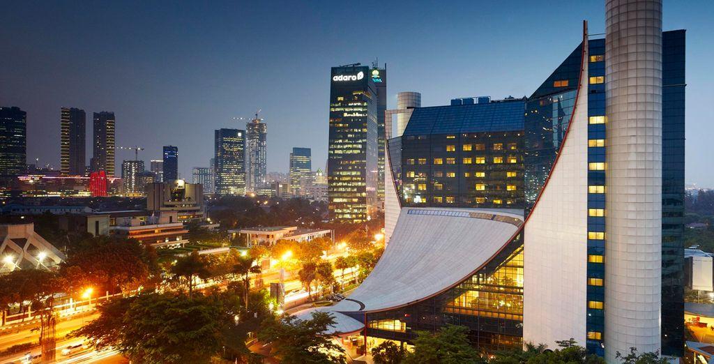 En Jakarta te alojarás en el Gran Melia Jakarta 5*