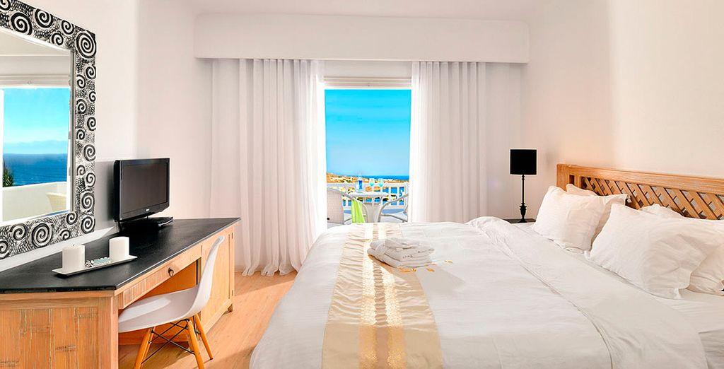 Disfruta de tu habitación con balcón