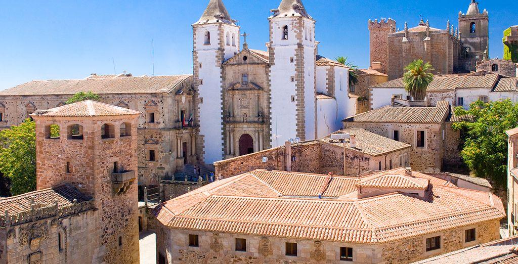 Cáceres está declarada Patrimonio de la Humanidad por la Unesco