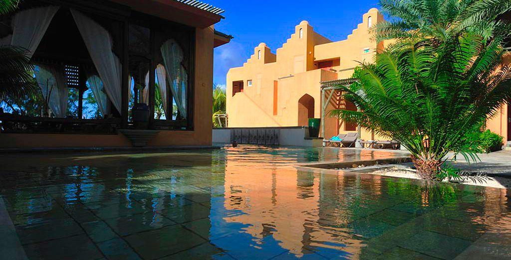 Pasa una estancia en un ambiente de riad marroquí