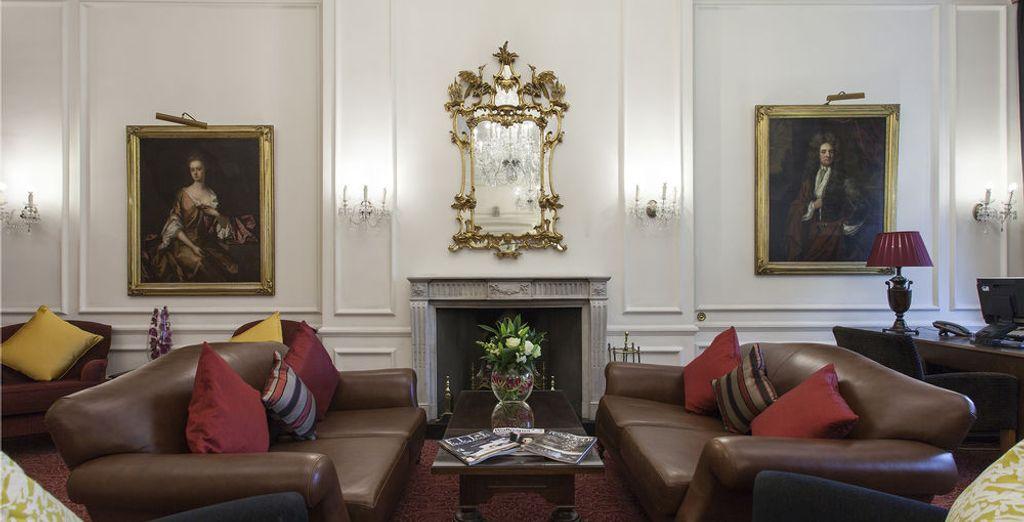 Un hotel de estilo victoriano