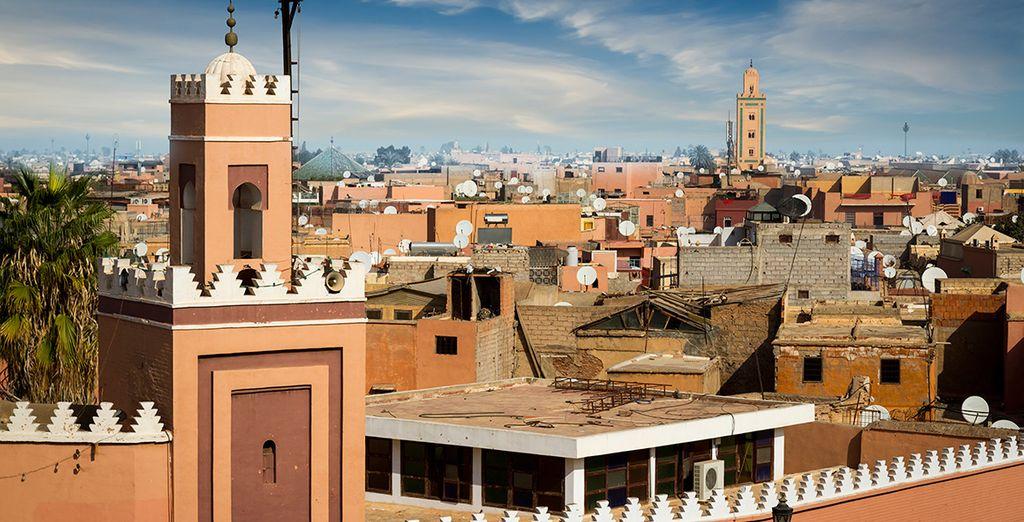 No dejes que te lo cuenten, ¡vive Marrakech!