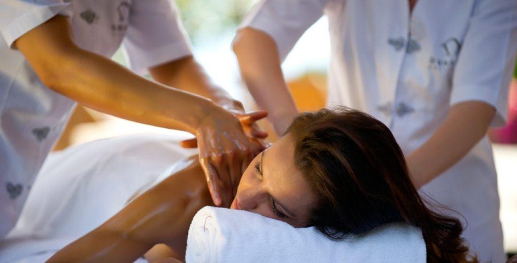 También se realizan masajes y tratamientos de belleza