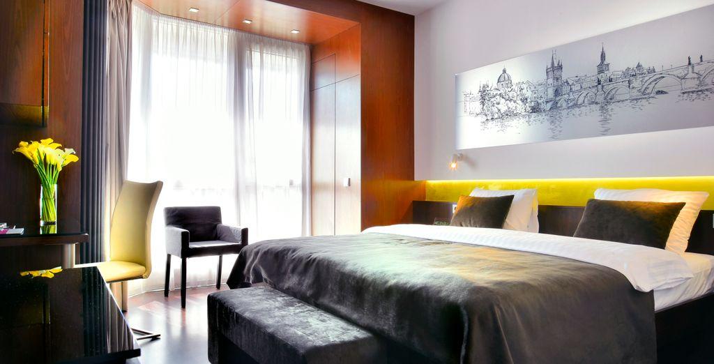 En Praga te alojarás en el Ametyst Hotel Praha 4*