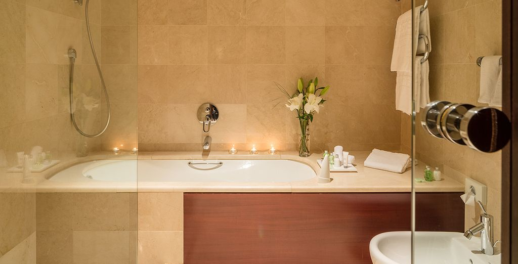 Dispondrás de un elegante baño