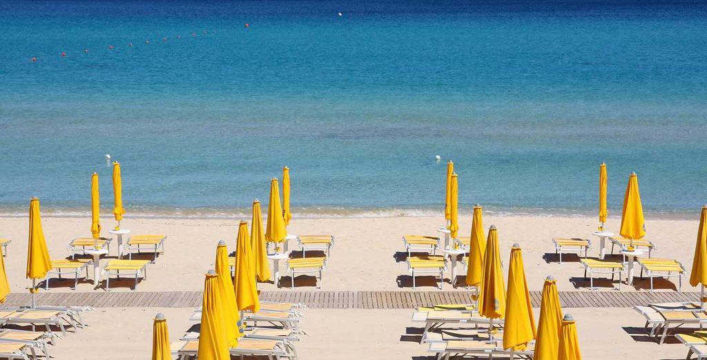 Servicio de tumbonas para tu estancia en la playa