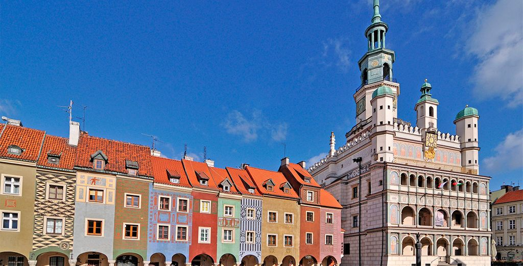 A continuación viajarás a Poznan