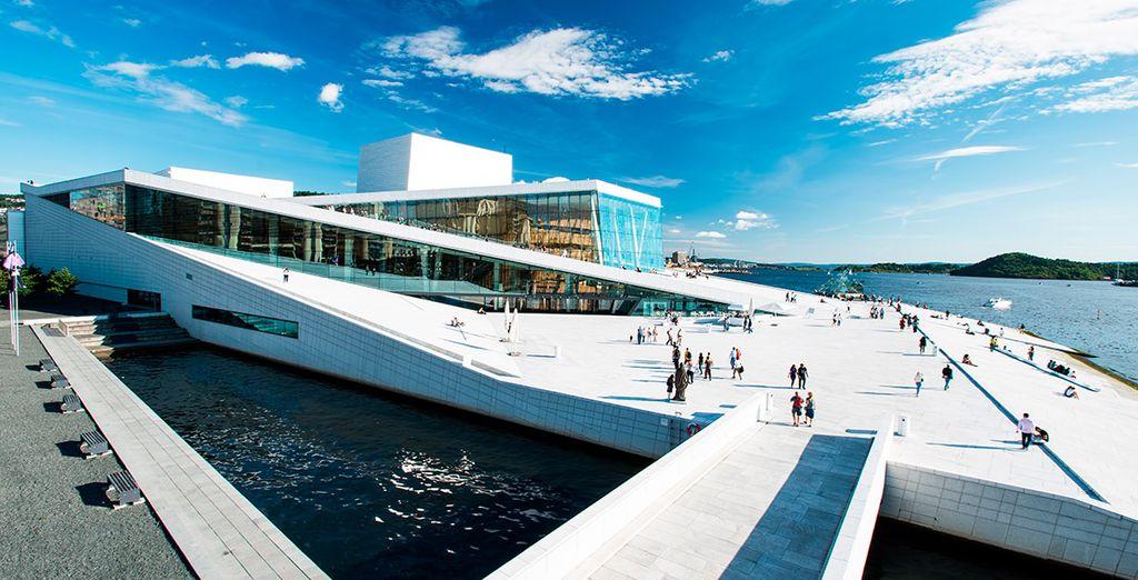 La Casa de la Ópera de Oslo, obra del estudio Snohetta
