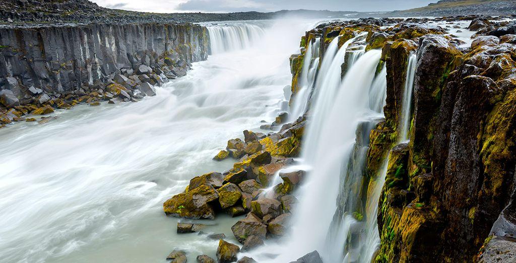 Las impresionantes cataratas de Selfoss