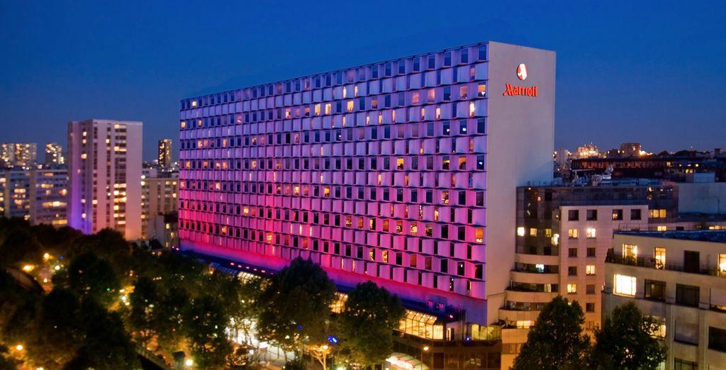 Mímate con una brillante experiencia hotelera en el corazón de París - Paris Marriott Rive Gauche Hotel & Conference Center 4* París