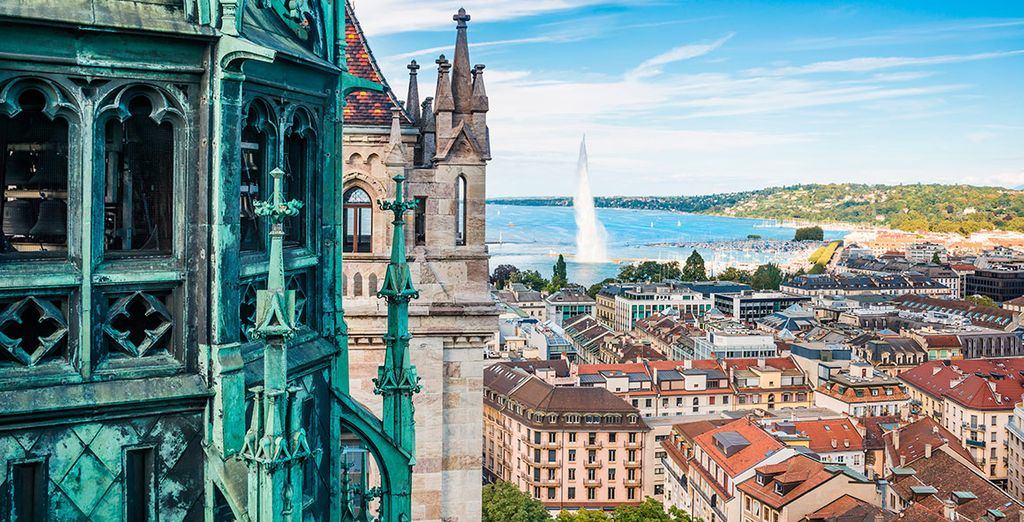Ginebra será tu primera parada en este hermoso itinerario