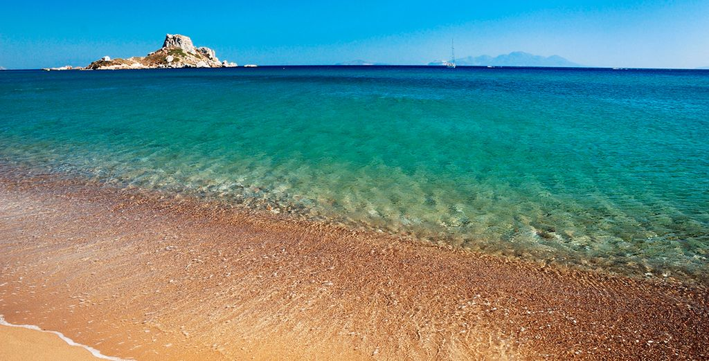 Un mar turquesa para tu disfrute