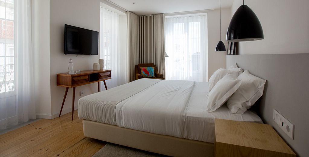 Te alojarás en una habitación Premium