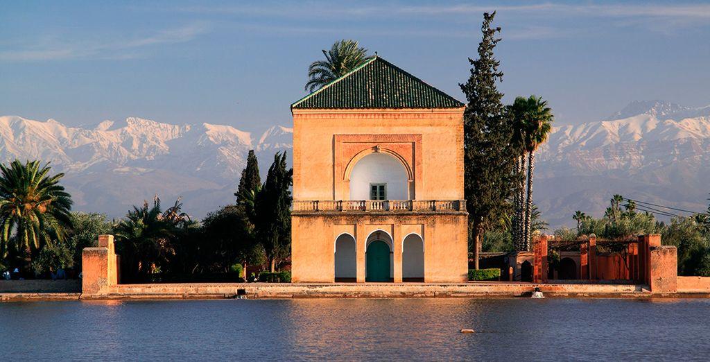 Aprovecha tu estancia en la Ciudad Roja para visitar los Jardines de Menara