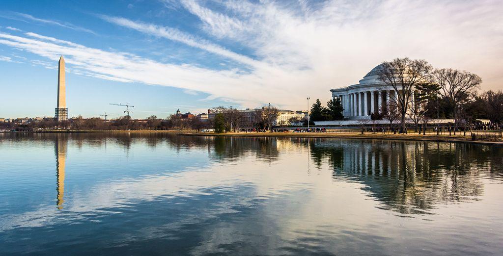 La capital de Estados Unidos, Washington, lugar de encuentro y transacciones