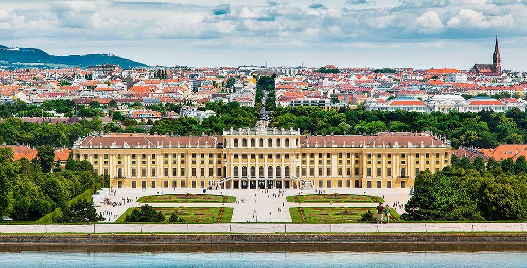 ... o el majestuoso Schonbrunn