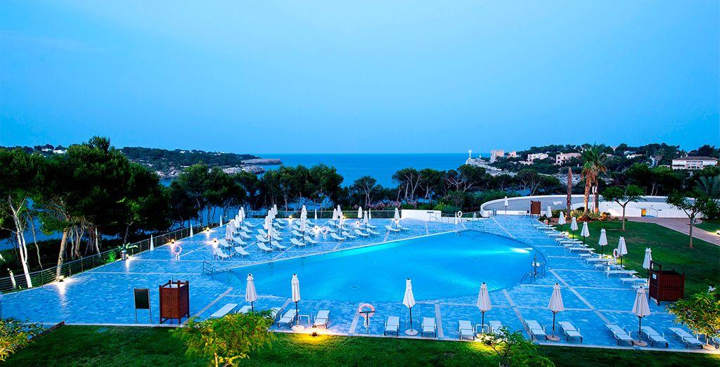 Un maravilloso hotel que combina ambientes distinguidos