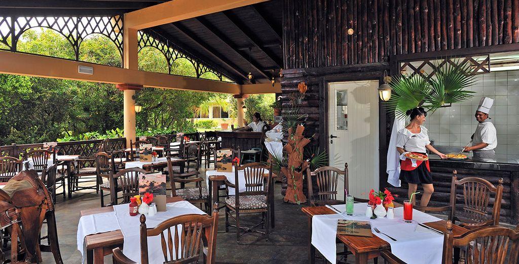 La pizzería de Meliá Las Dunas 5* hará las delicias durante tu estancia en Cayo Santa María
