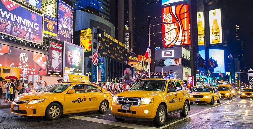No te pierdas Times Square
