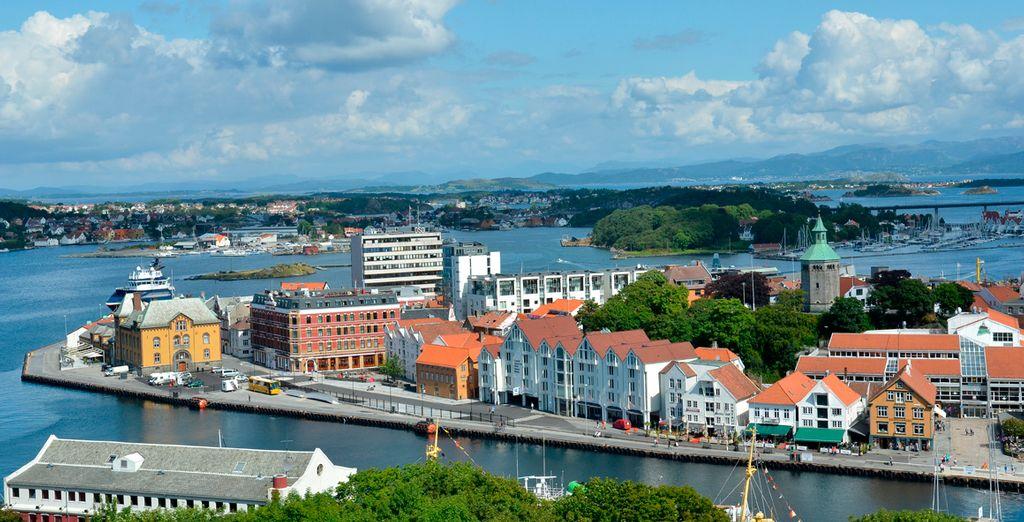 Stavanger, un precioso pueblo noruego