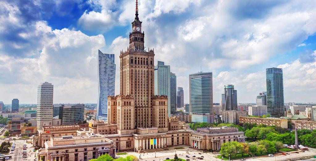 Descubre Varsovia desde el Hotel Sheraton Warsaw 5*