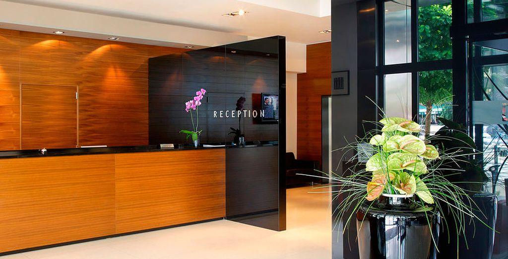 Bienvenido a Hotel Atrium 5*