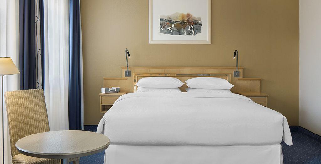 Descansa en tu habitación Deluxe