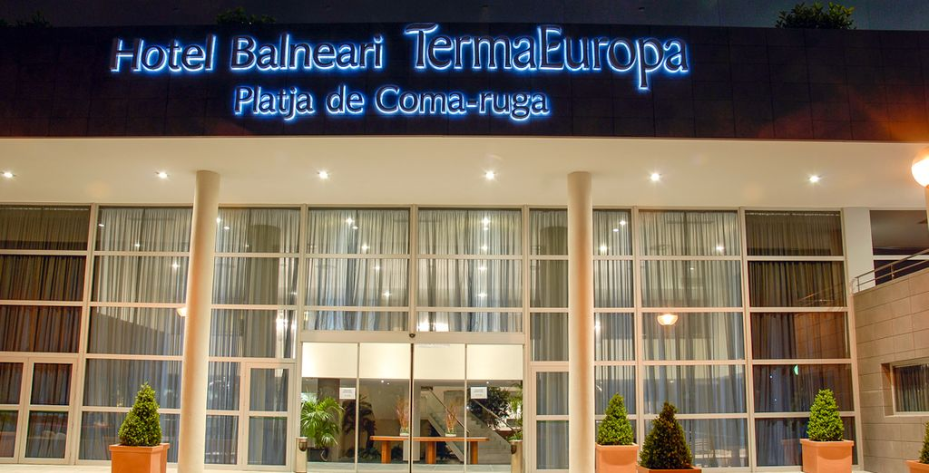 En el Hotel Balneario Termaeuropa Playa de Coma Ruga 4* ...