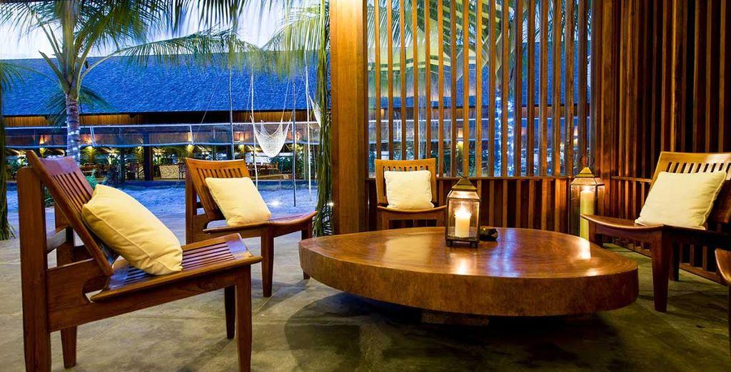 Disfruta de todos los espacios que el Barefoot Eco Hotel pone a tu disposición