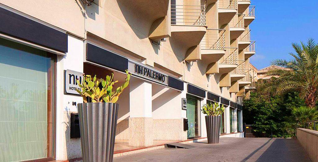 Bienvenido al hotel NH Palermo