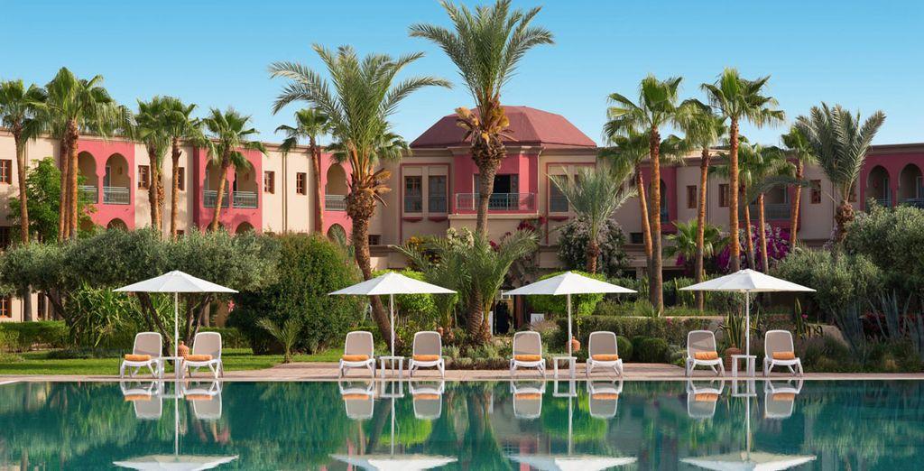 Bienvenido a IBEROSTAR Club Palmeraie Marrakech 4*