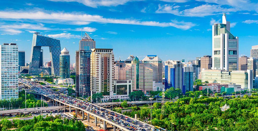 Pekín será tu primera parada