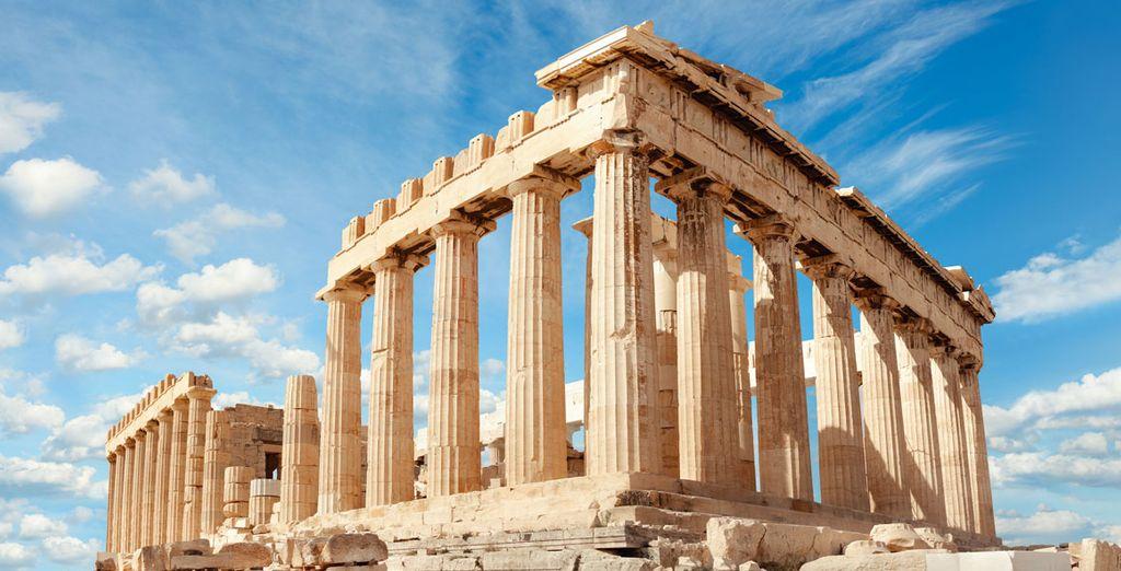 El Partenón, el icono más famoso de la ciudad