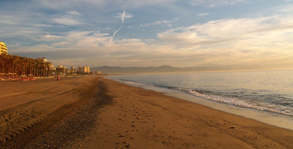 7 kilómetros de magníficas playas soleadas