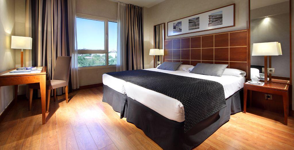 Hotel Eurostars Gran Madrid 4* - Alcala de Henares
