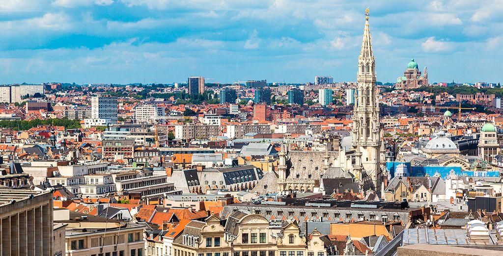 Bruselas es la capital de Bélgica pero también la capital europea