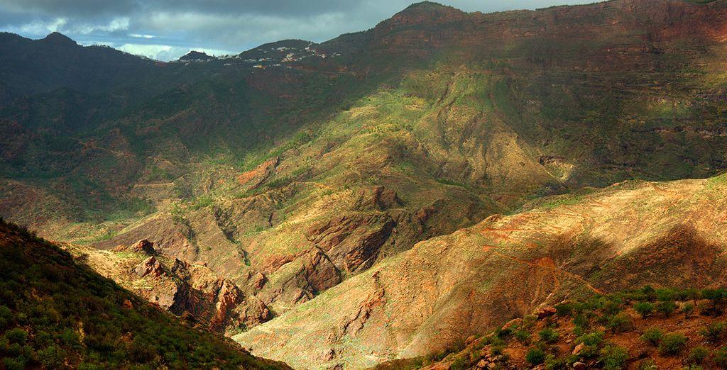 Gran Canaria dispone de una gran cantidasd de atracciones, acércate al Parque Natural de Pilancones