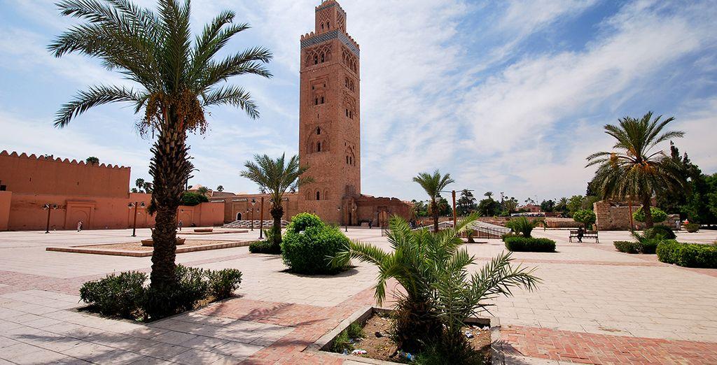 Maravíllate con la mezquita de Kutubía