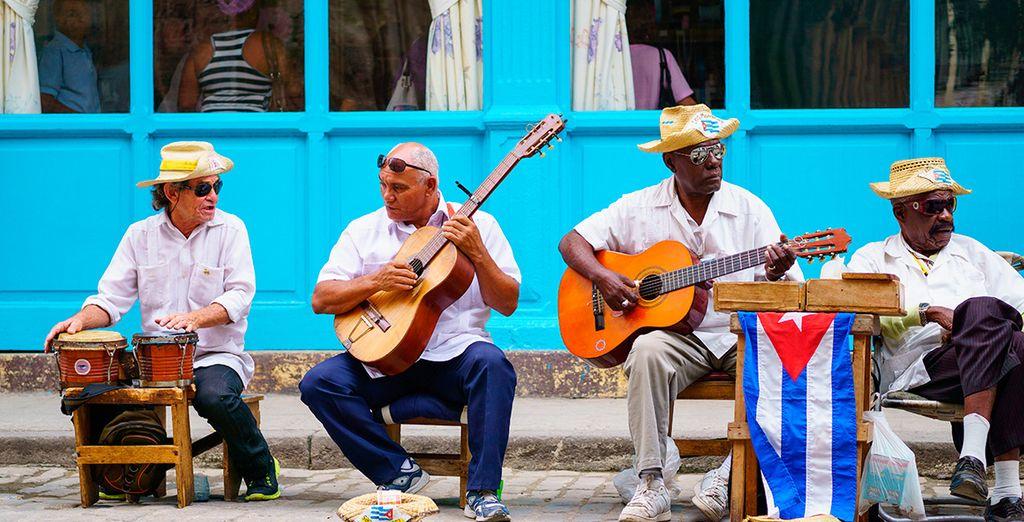 ... y el ritmo cubano