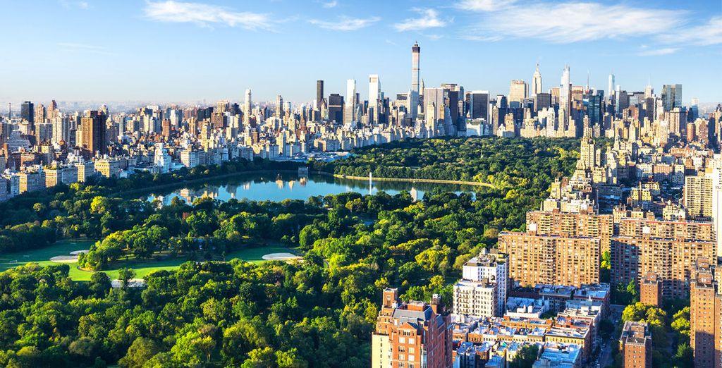 Tu hotel presume de una situación excelente junto a Central Park...