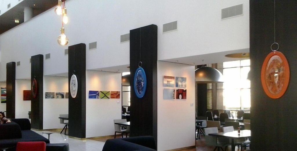 Un hotel lleno de arte y diseño