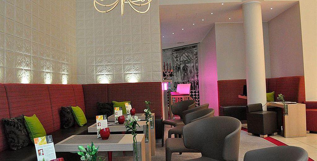 Un hotel moderno y acogedor, ubicado en el corazón de la capital alemana