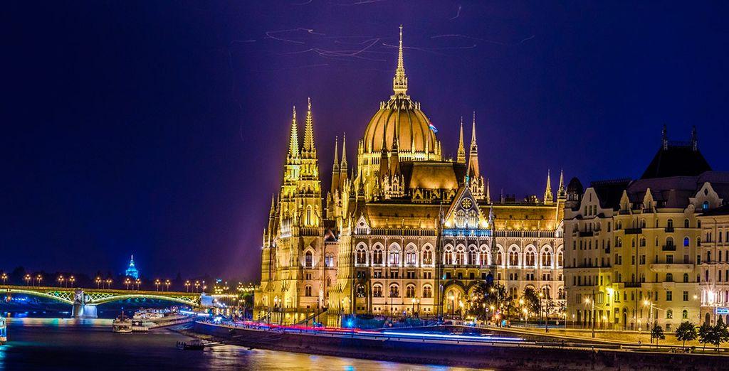 El majestuoso Parlamento de Hungría